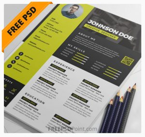 Awesome Resume CV Design PSD Bundle