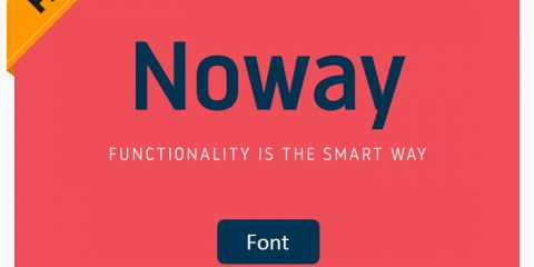 Noway Free Font Family Download