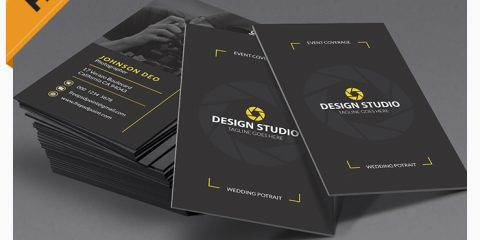 Photography Business Card Modern Template