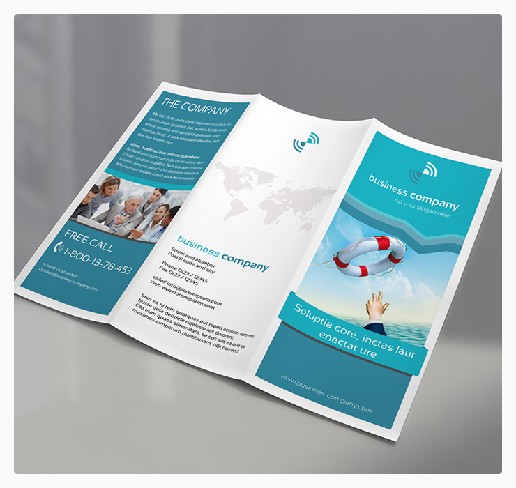 Trifold Brochure Mockup Psd Free Download Free Psd Point