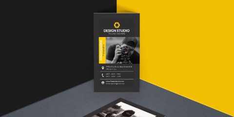 Modern Photography Business Cards