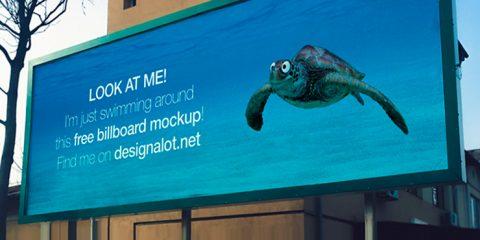 Outdoor Billboard Free Mockup