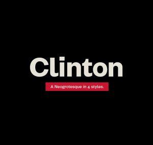 Clinton Font Family