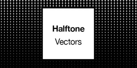Halftone Pattern Textures