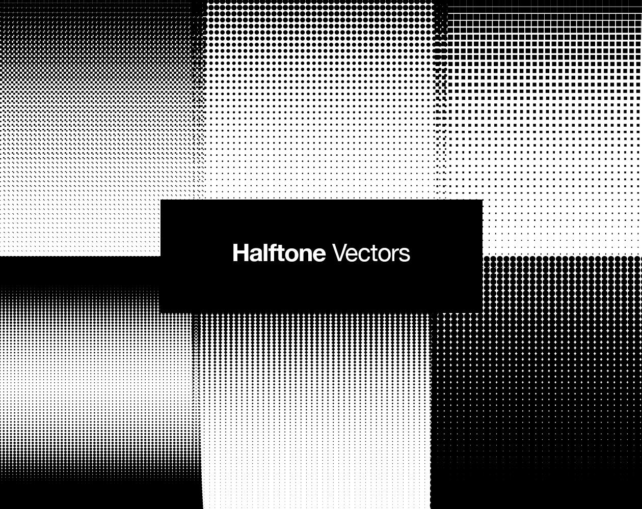 Halftone Pattern Textures