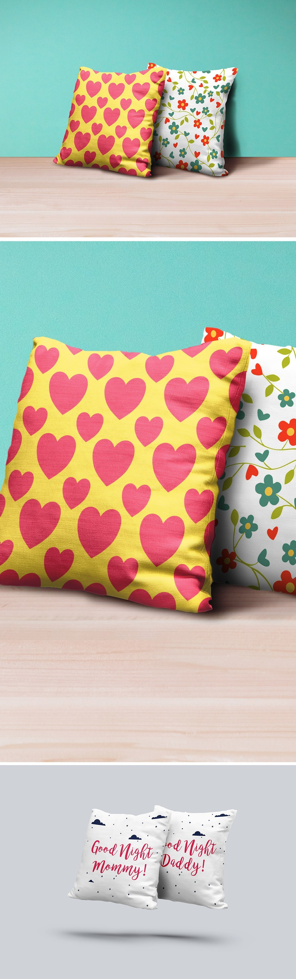 Pillows Mockup