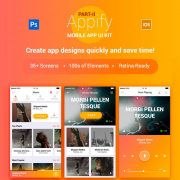 Appify Mobile App UI Kit
